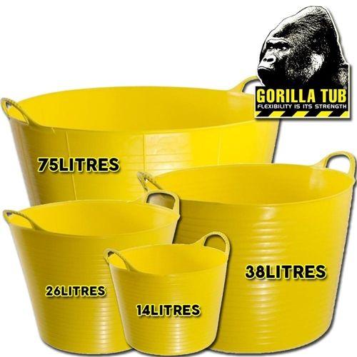 Gorilla Plastic Tubs
