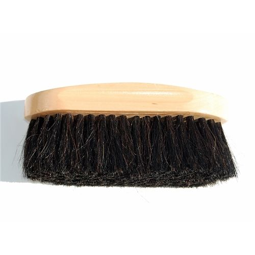 Turfmasters Wooden Horsehair Brush