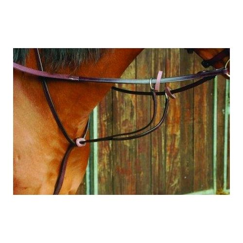 Celtic Equine Brass Buckle Running Martingale