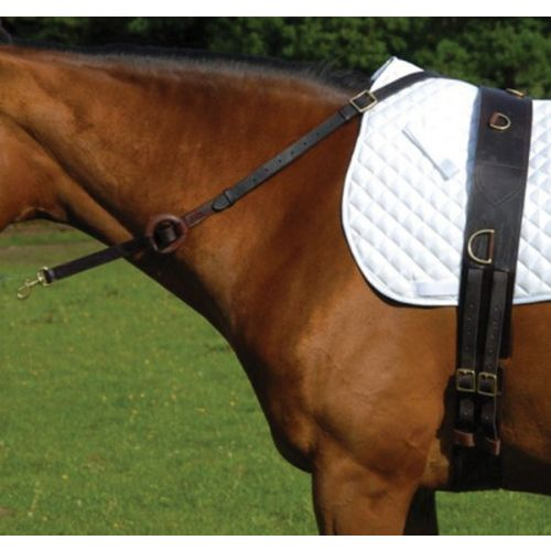 Celtic Equine Leather Side Reins
