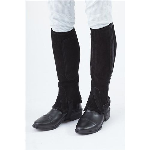 Turfmasters Suede Half Chaps