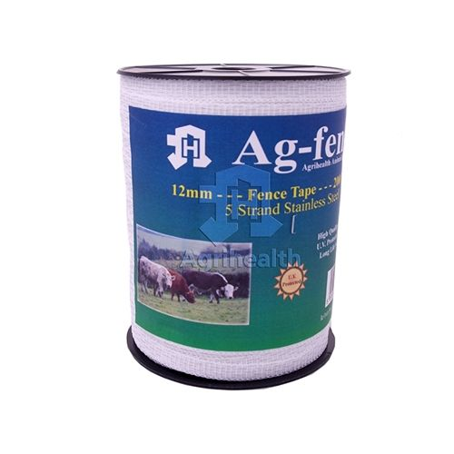 FENCEMAN TAPE WHITE 12.5MM 200M Electric Fence