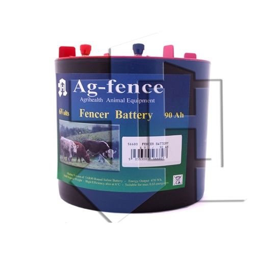 Electric Fence Battery 6V 90AH
