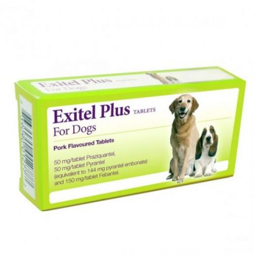 Exitel Plus Dog Wormers