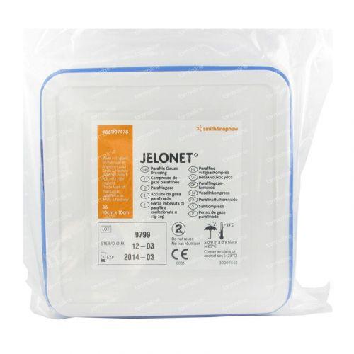Jelonet 10x10cm Tin (36 Pack)