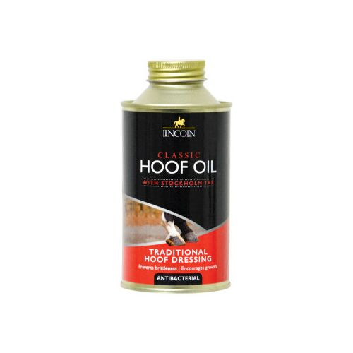 Lincoln Hoof Oil with brush 500ml