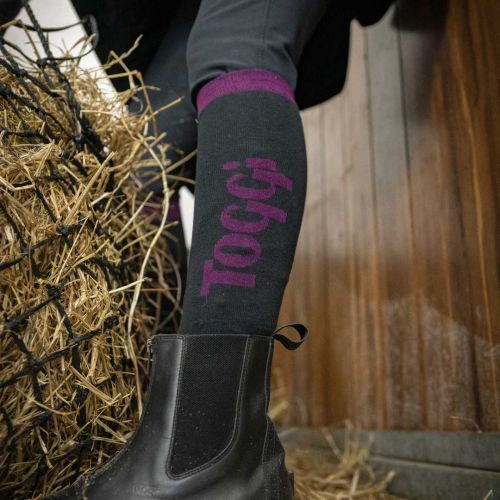 Eco Purple 3Pk Socks