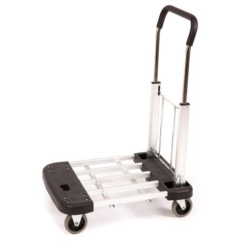 TRI Metal Folding 4 Wheel Trolley
