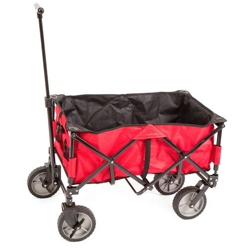 TRI Folding Canvas Wagon Red
