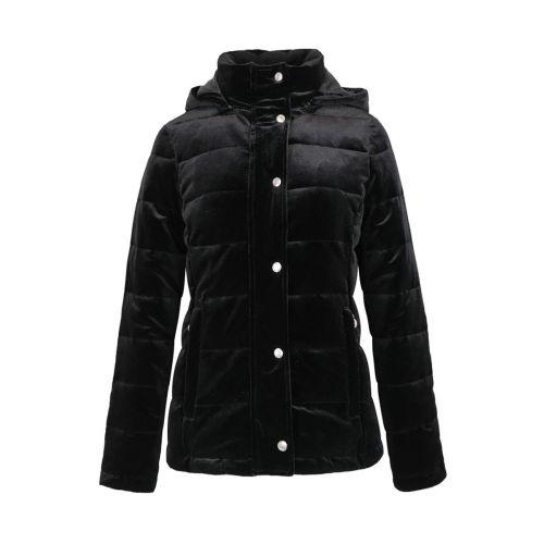 Harcour Amy Ladies Velvet Padded Jacket