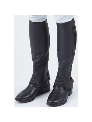 Turfmasters Full Grain Leather Half Chaps