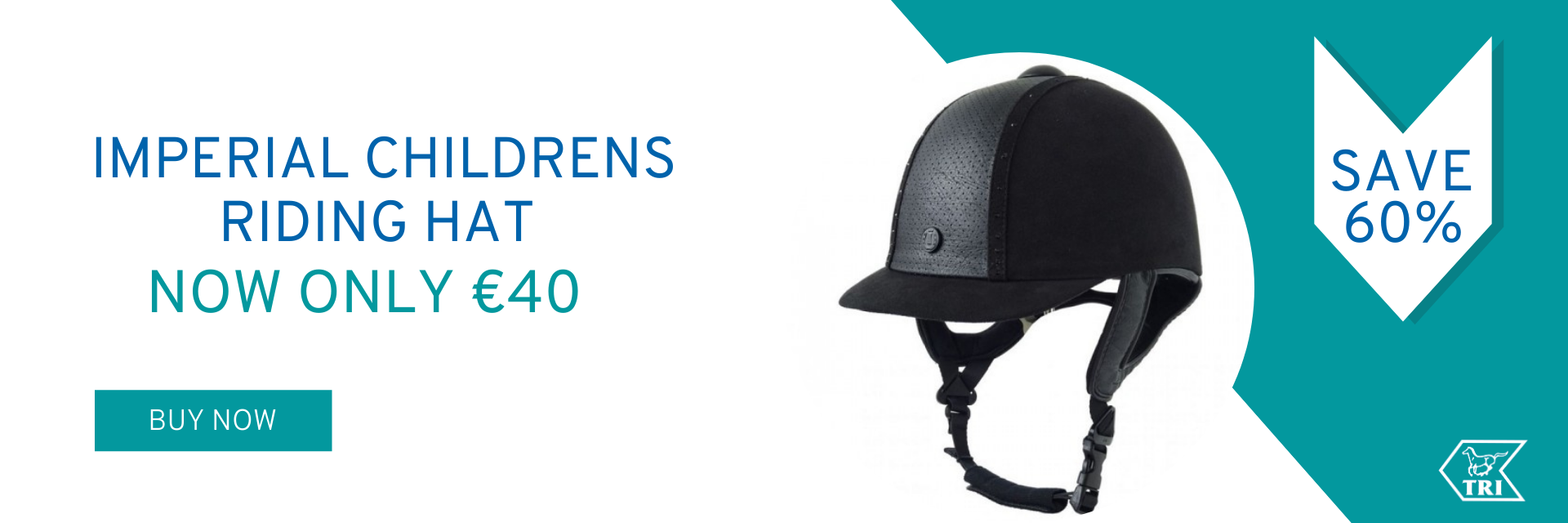 Imperial childrens riding hat now only €40
