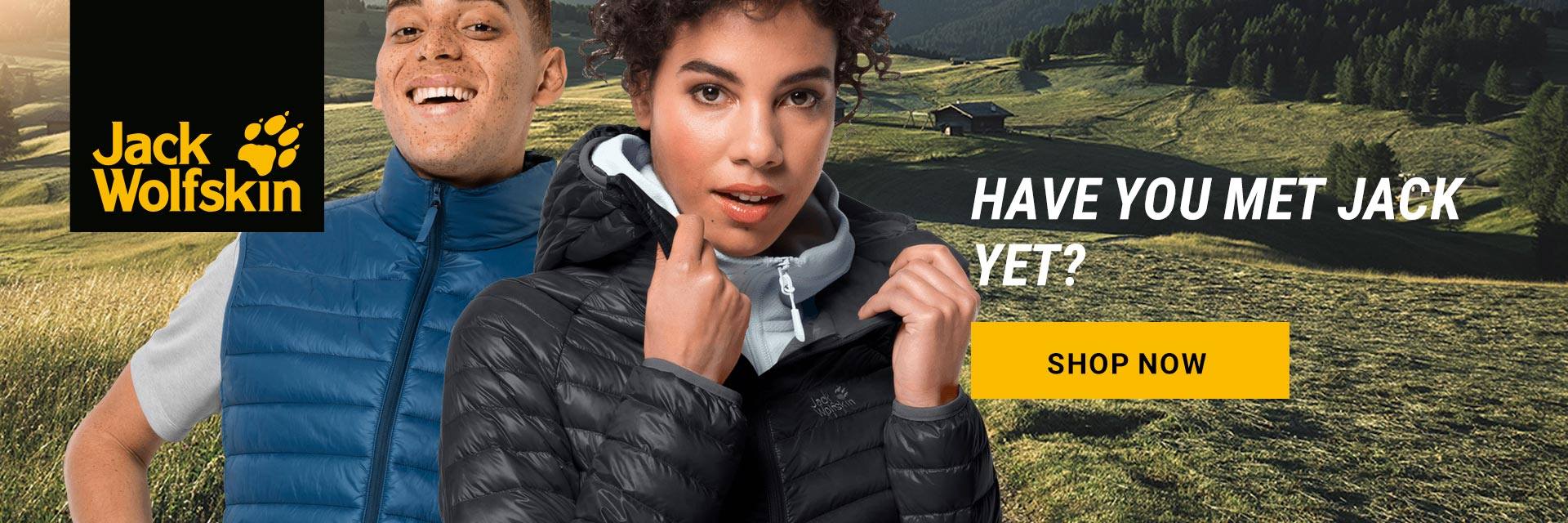 Jack wolfskin now available